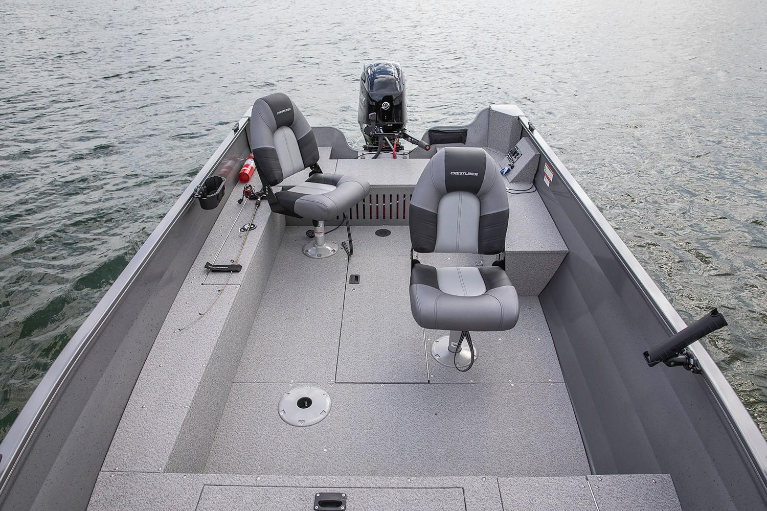 2019 Crestliner 1600 Vision Tiller in Saint Peters, Missouri - Photo 4