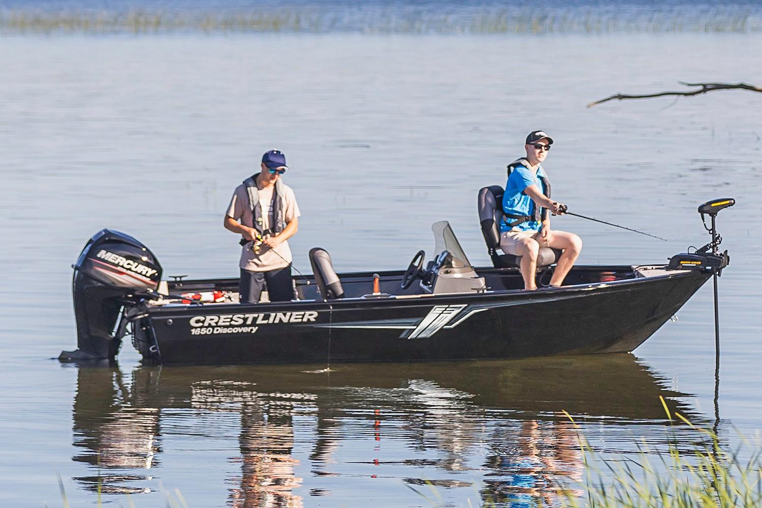 2019 Crestliner 1650 Discovery SC in Spearfish, South Dakota