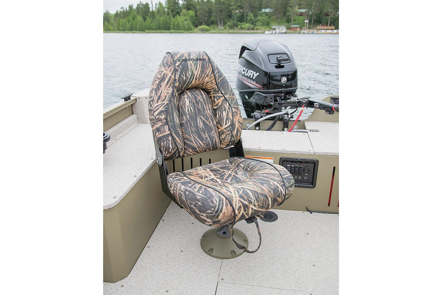 2019 Crestliner 1650 Discovery Tiller in Cable, Wisconsin