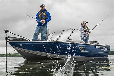 2019 Crestliner 1650 Fish Hawk SC in Kaukauna, Wisconsin