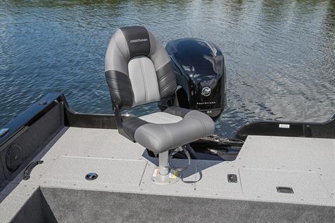2019 Crestliner 1650 FISH HAWK SE SC in Cable, Wisconsin