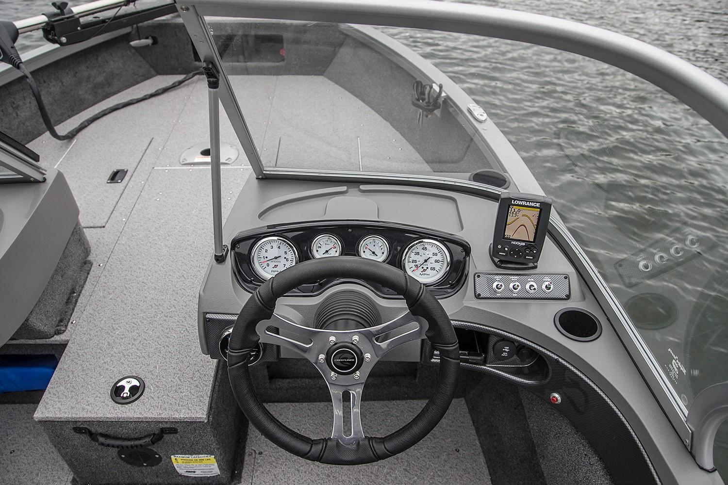 2019 Crestliner 1650 FISH HAWK SE WT in Saint Peters, Missouri