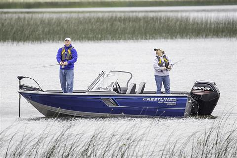 2019 Crestliner 1650 Fish Hawk WT in Kaukauna, Wisconsin