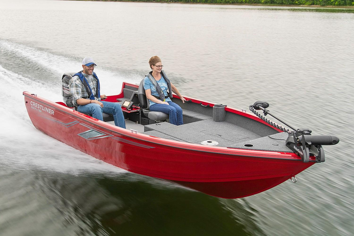 2019 Crestliner 1650 Pro Tiller in Kaukauna, Wisconsin - Photo 1