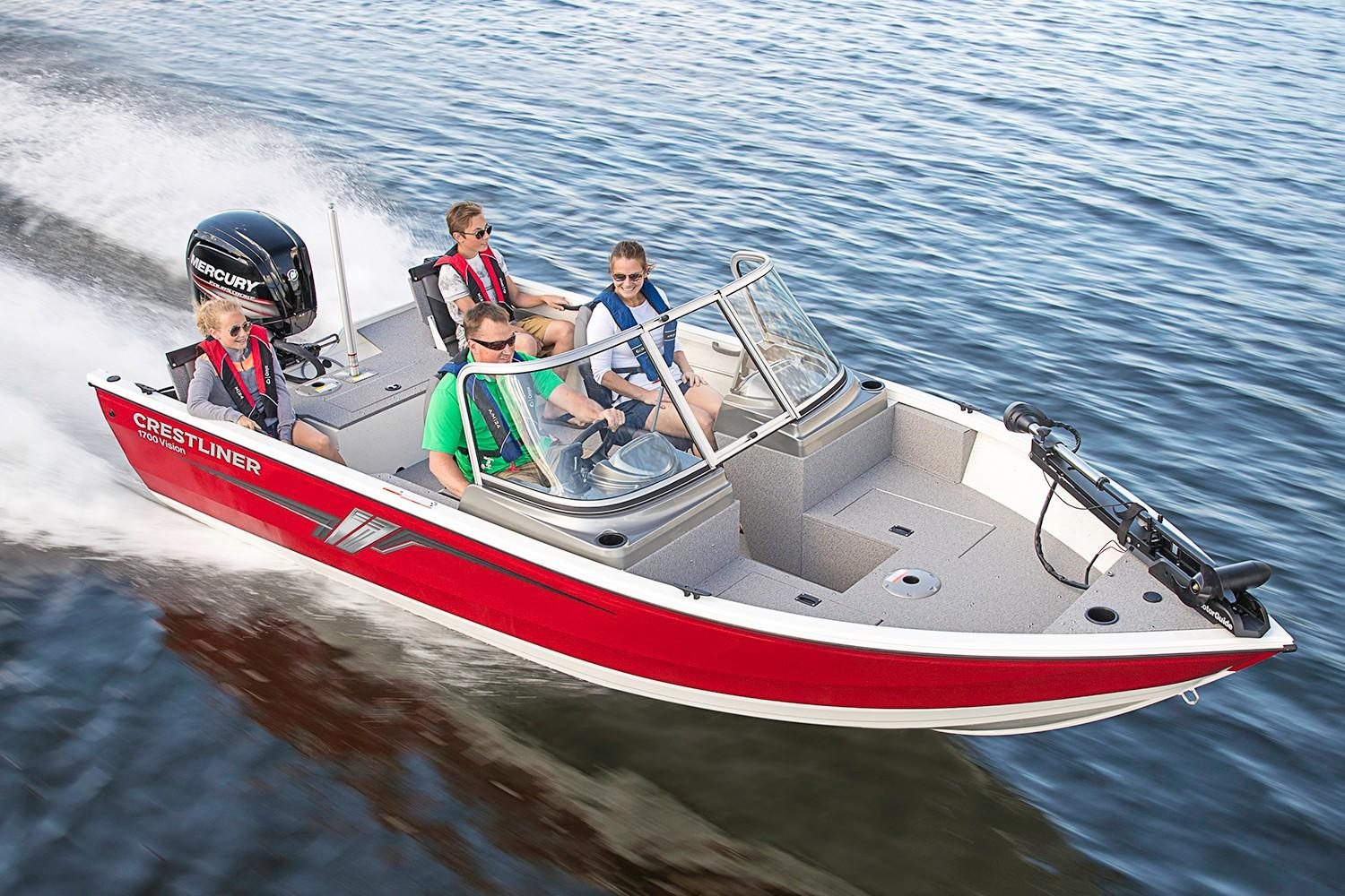 2019 Crestliner 1700 Vision in Spearfish, South Dakota