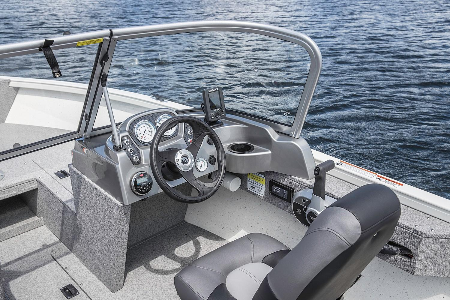 2019 Crestliner 1700 Vision in Cable, Wisconsin