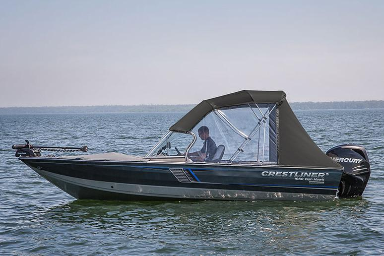 2019 Crestliner 1750 Fish Hawk SC in Idaho Falls, Idaho