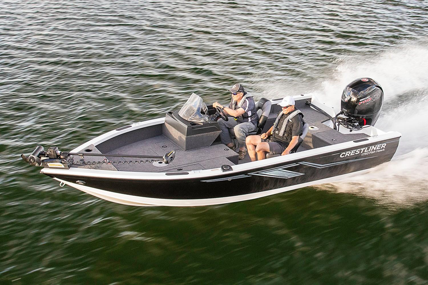 2019 Crestliner 1750 Fish Hawk SC in Spearfish, South Dakota