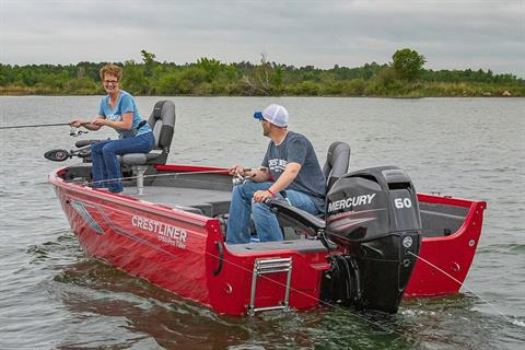 2019 Crestliner 1750 Pro Tiller in Saint Peters, Missouri
