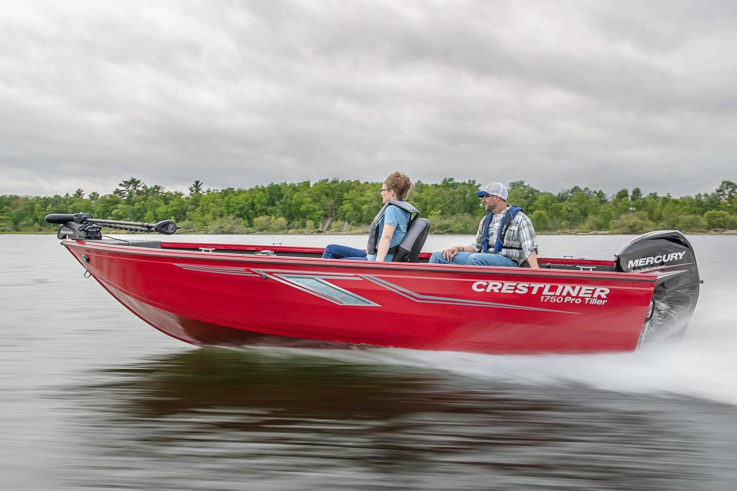 2019 Crestliner 1750 Pro Tiller in Cable, Wisconsin - Photo 1