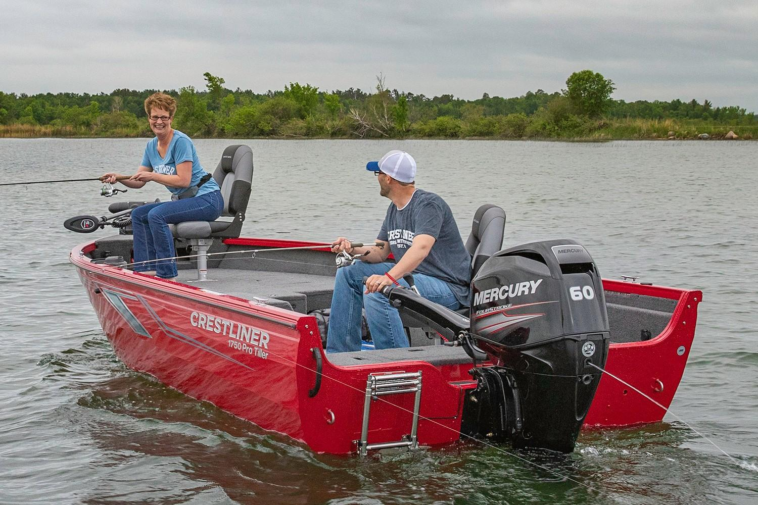 2019 Crestliner 1750 Pro Tiller in Cable, Wisconsin - Photo 2