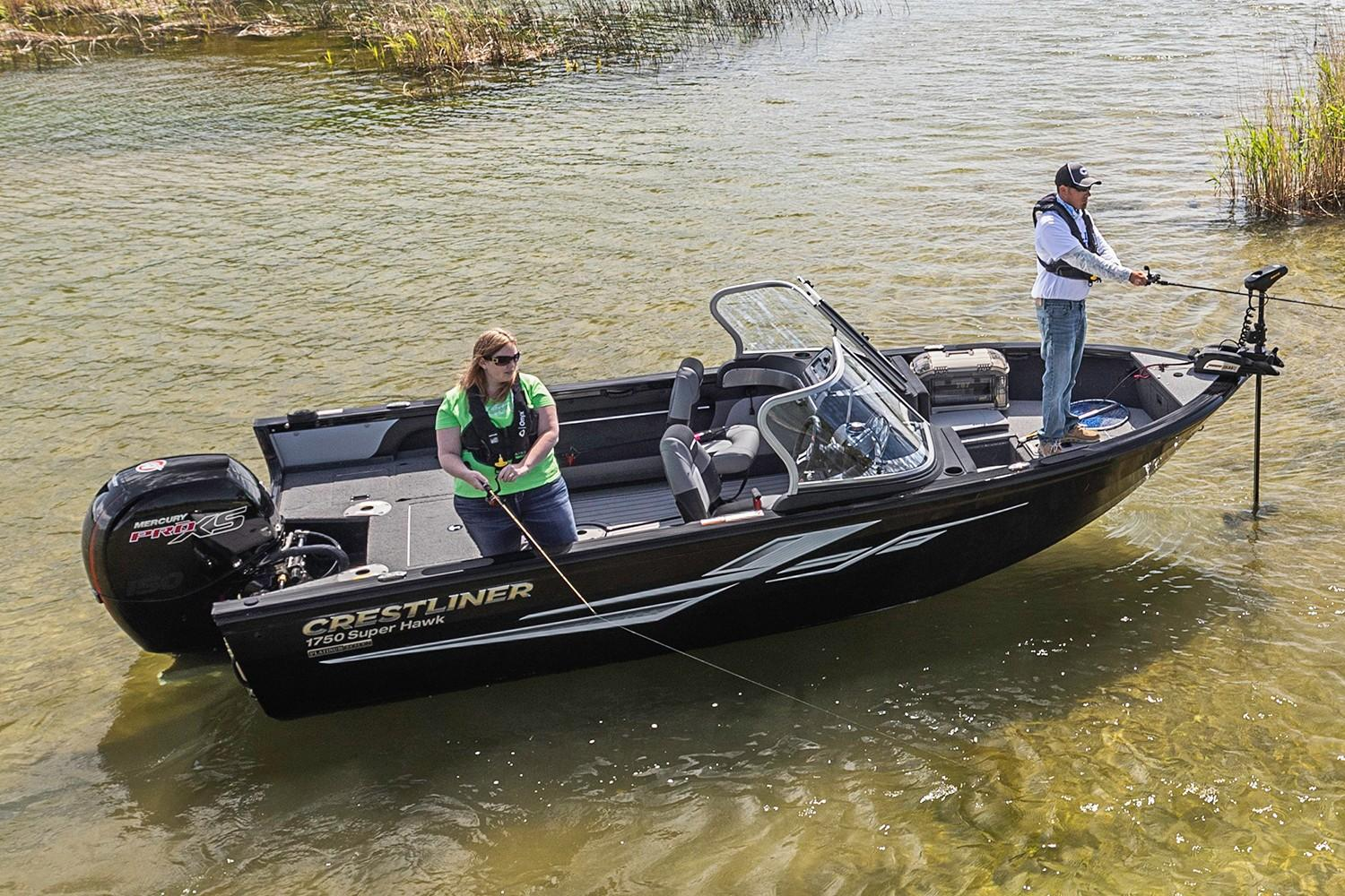 2019 Crestliner 1750 Super Hawk in Saint Peters, Missouri - Photo 3