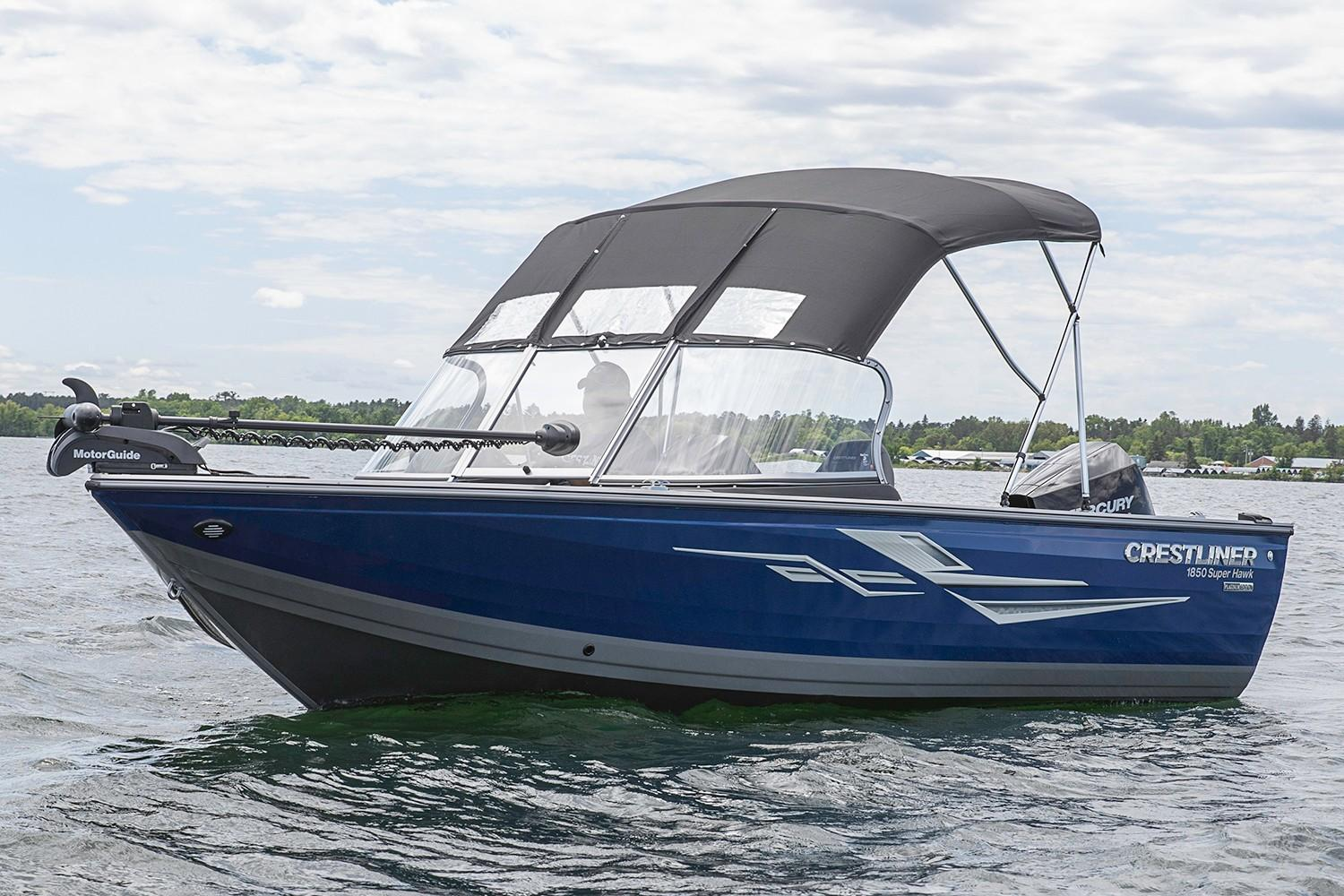 2019 Crestliner 1750 Super Hawk in Saint Peters, Missouri - Photo 4