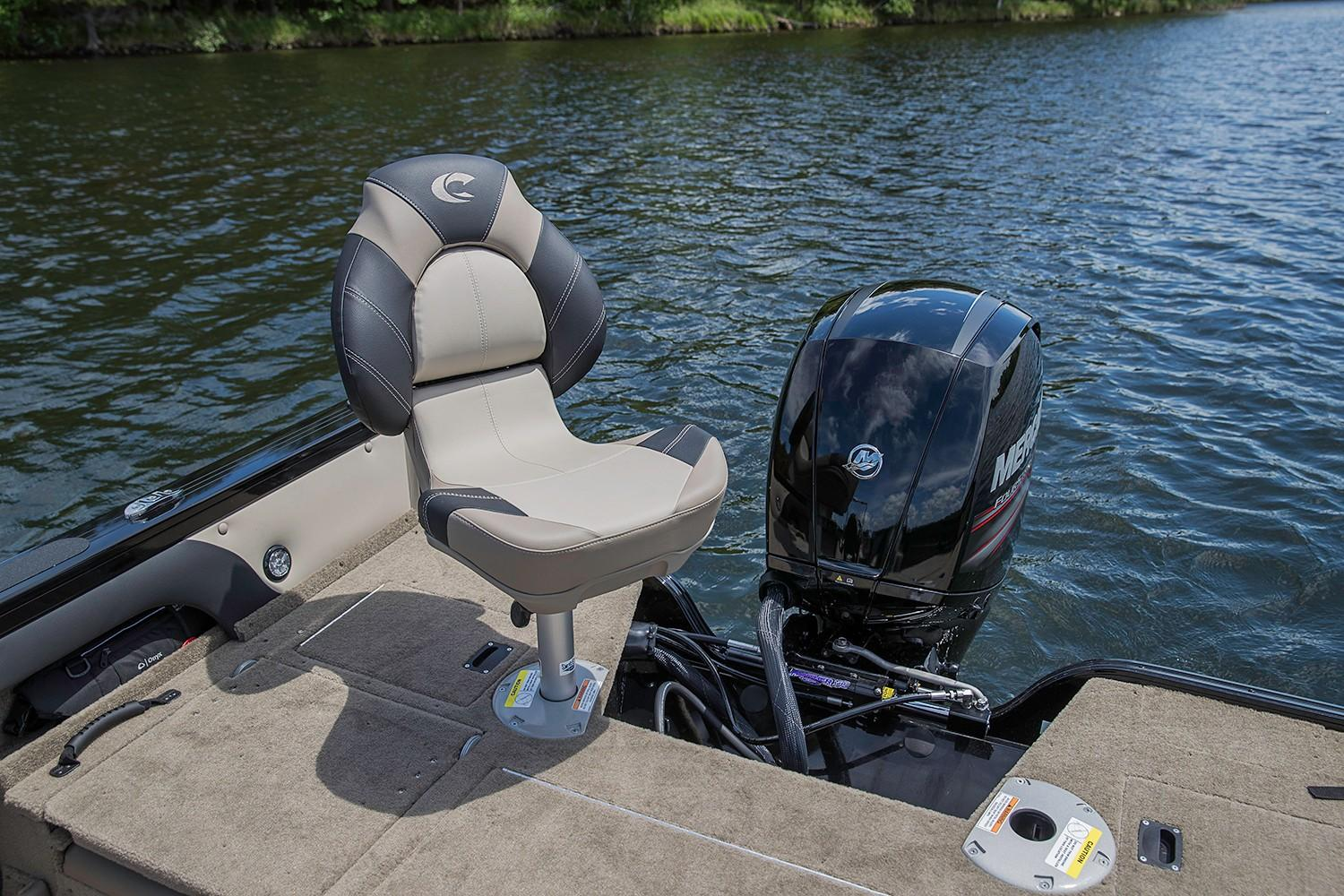 2019 Crestliner 1750 Super Hawk in Saint Peters, Missouri - Photo 12
