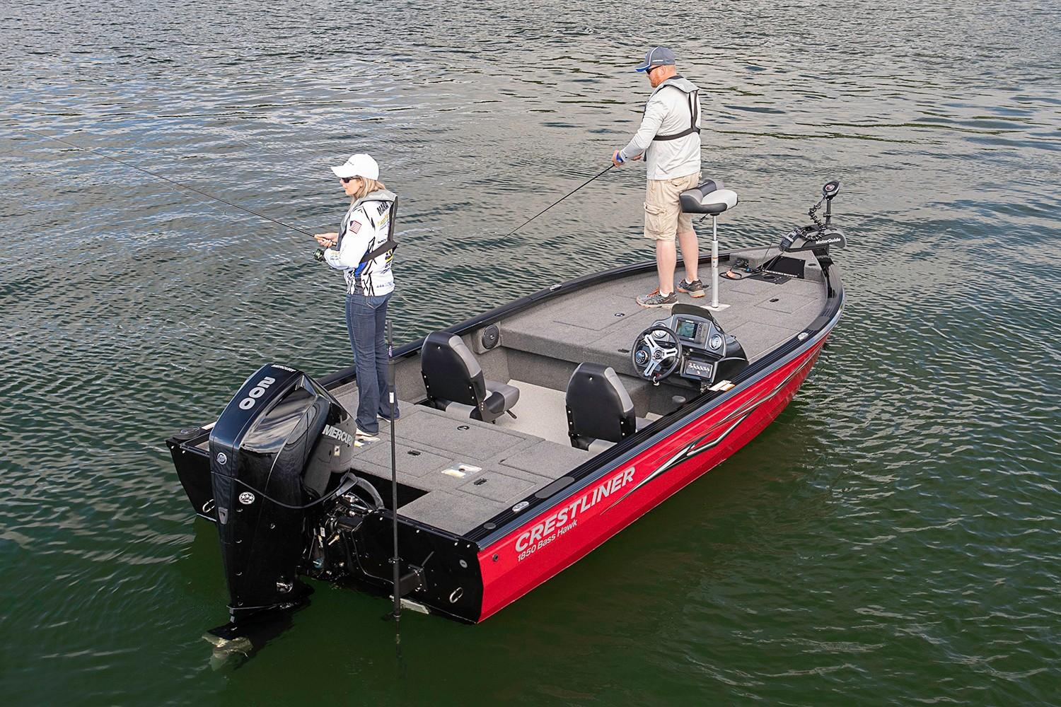 2019 Crestliner 1850 Bass Hawk in Kaukauna, Wisconsin