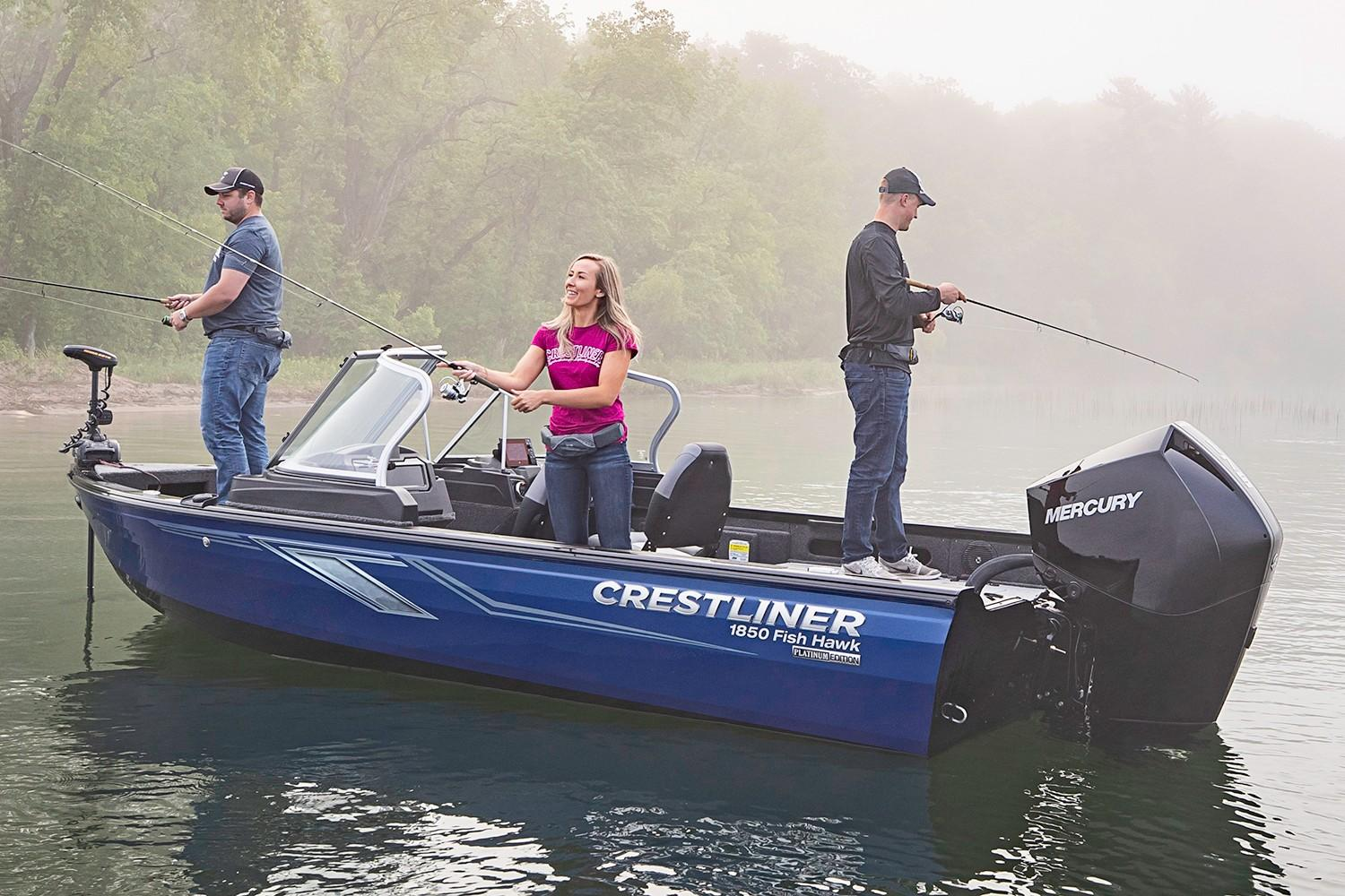 2019 Crestliner 1850 Fish Hawk WT JS in Saint Peters, Missouri - Photo 4
