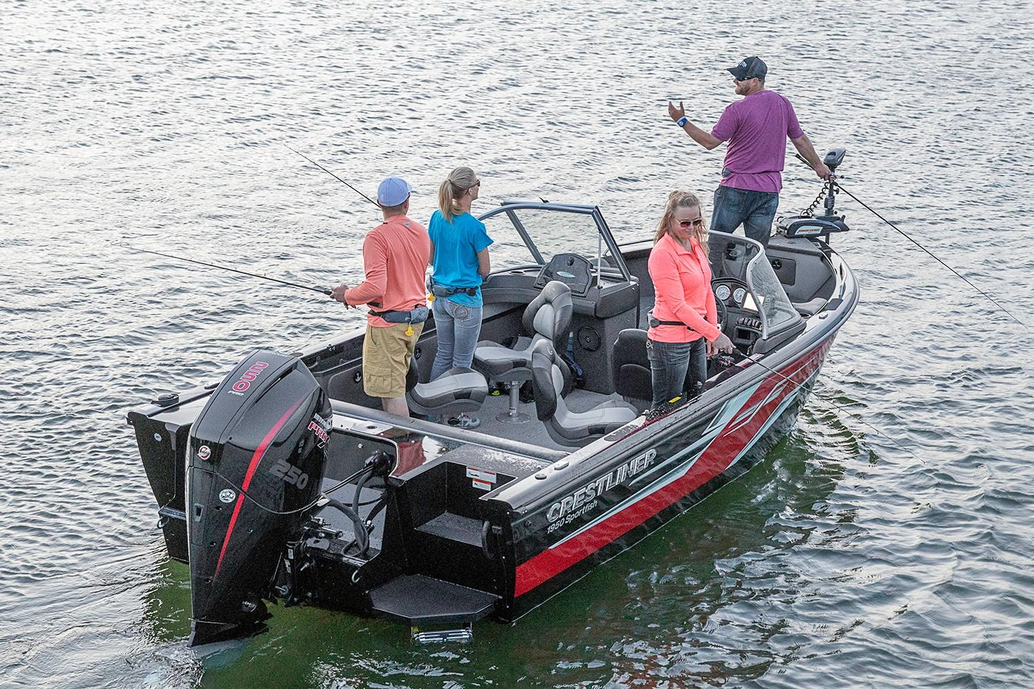 2019 Crestliner 1850 Sportfish Outboard in Amory, Mississippi - Photo 1
