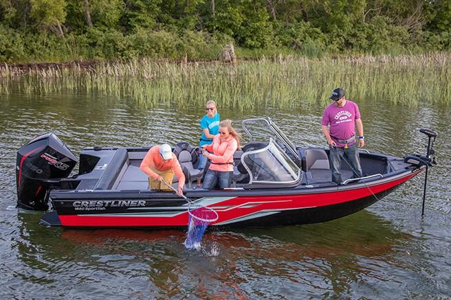 2019 Crestliner 1850 SportFish SST in Kaukauna, Wisconsin - Photo 1