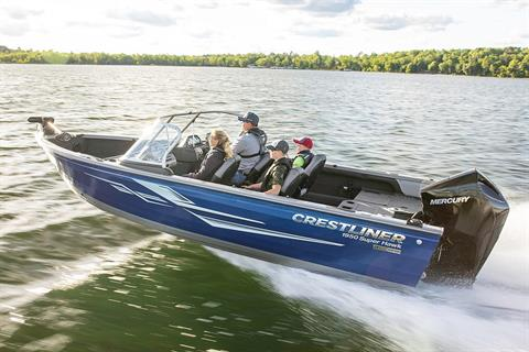 2019 Crestliner 1950 Super Hawk in Amory, Mississippi