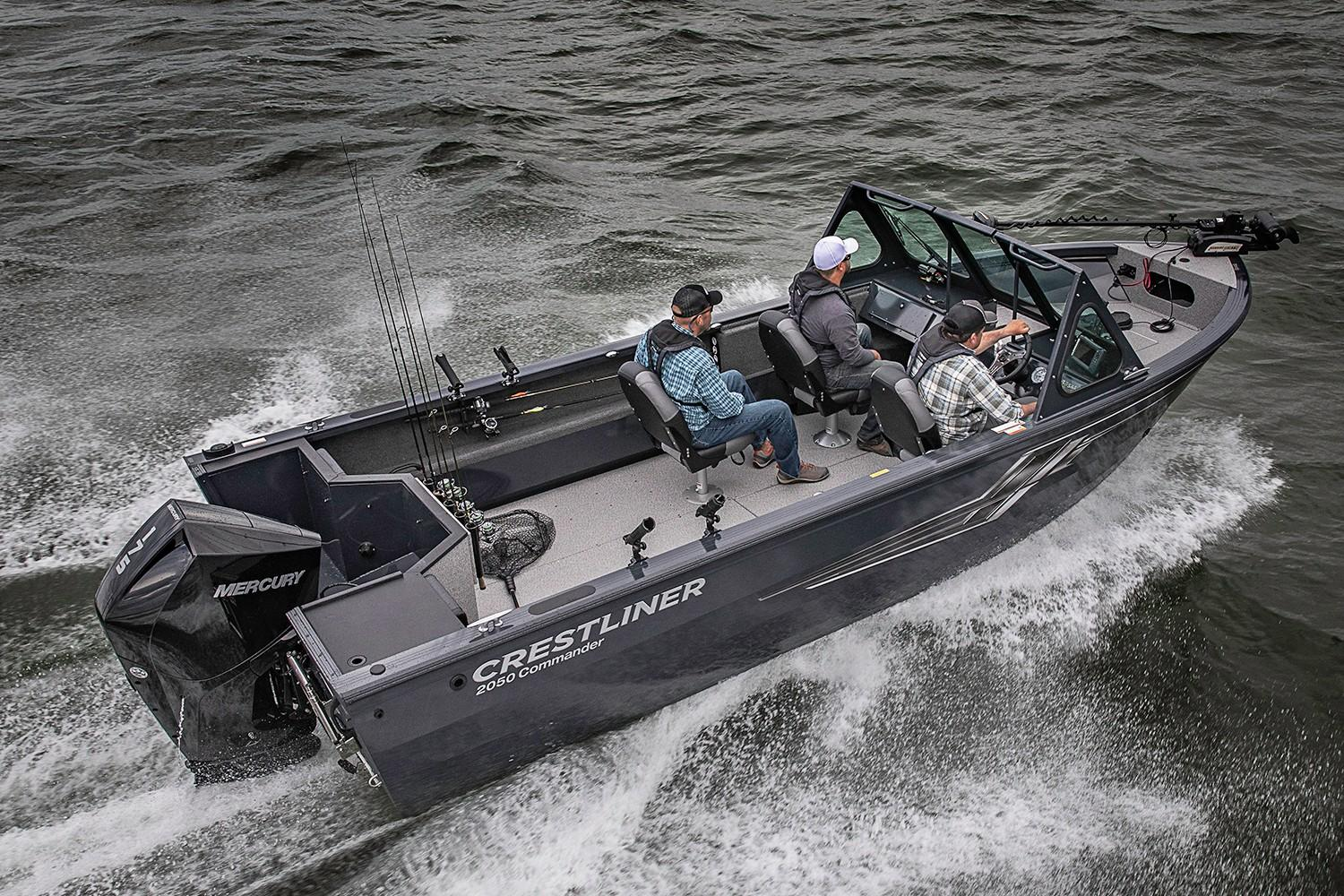 2019 Crestliner 2050 Commander in Cable, Wisconsin