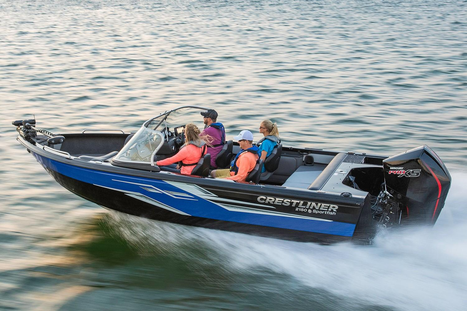 2019 Crestliner 2150 Sportfish SST in Amory, Mississippi - Photo 1