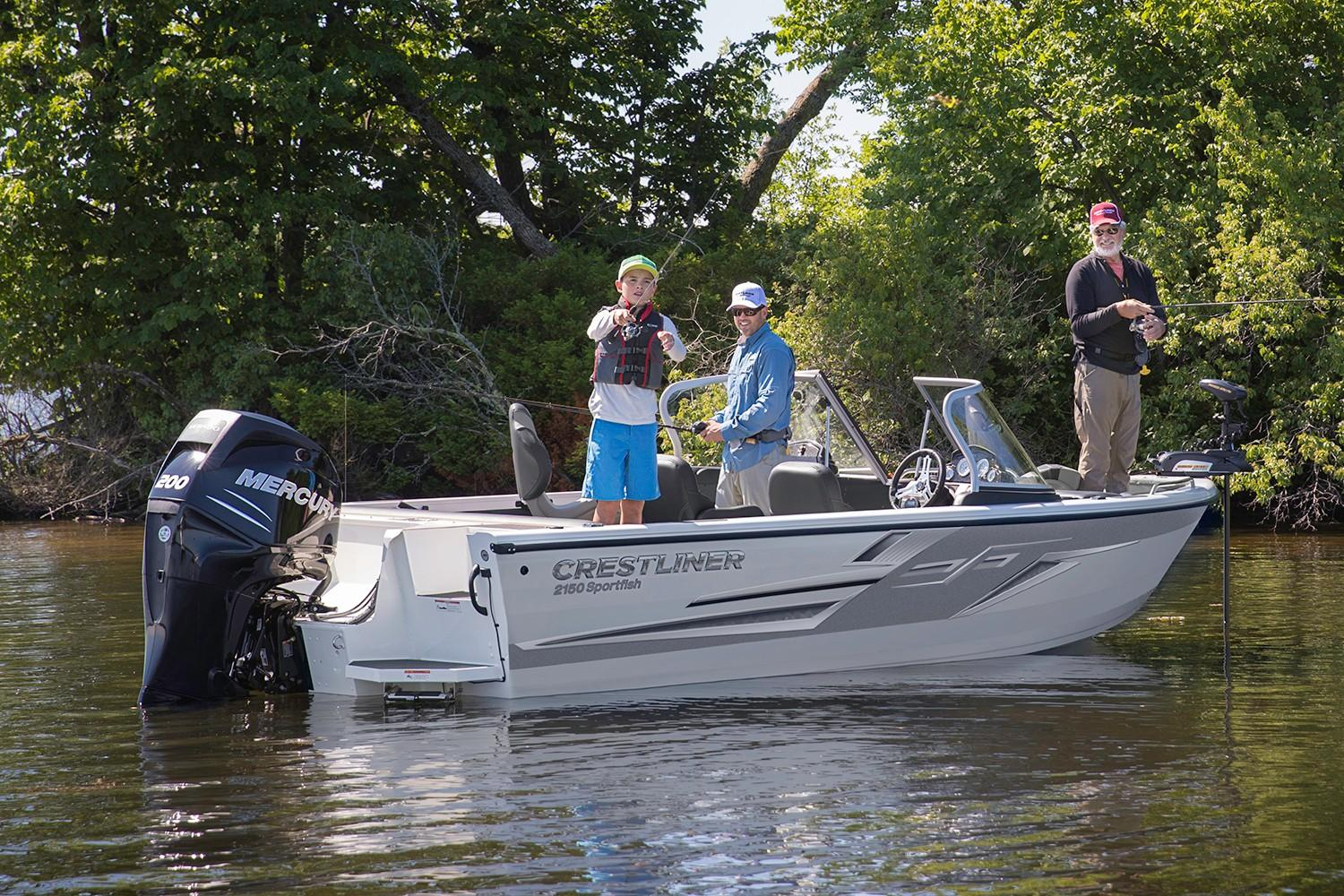 2019 Crestliner 2150 Sportfish SST in Amory, Mississippi - Photo 2