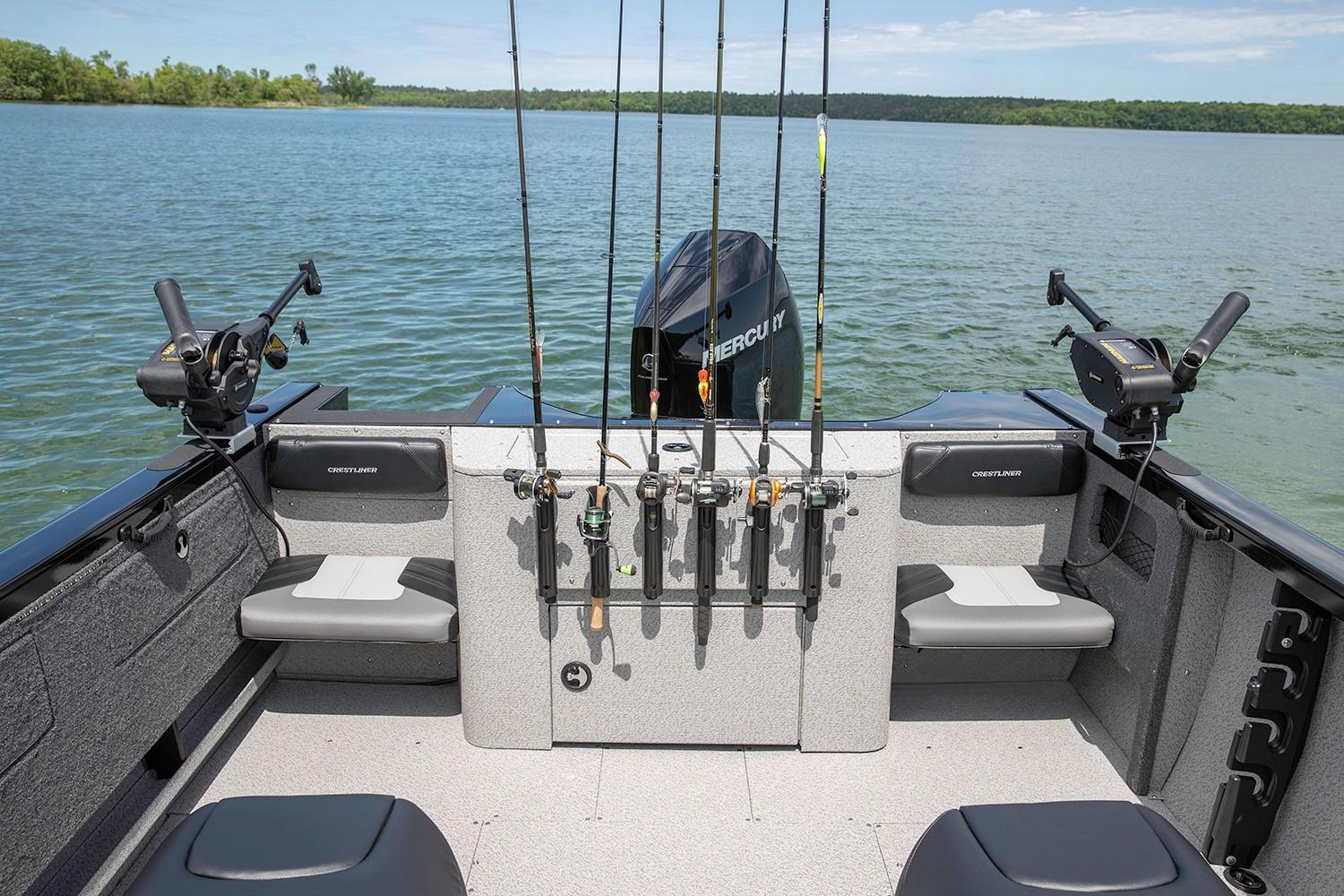 2019 Crestliner 2250 Authority in Cable, Wisconsin