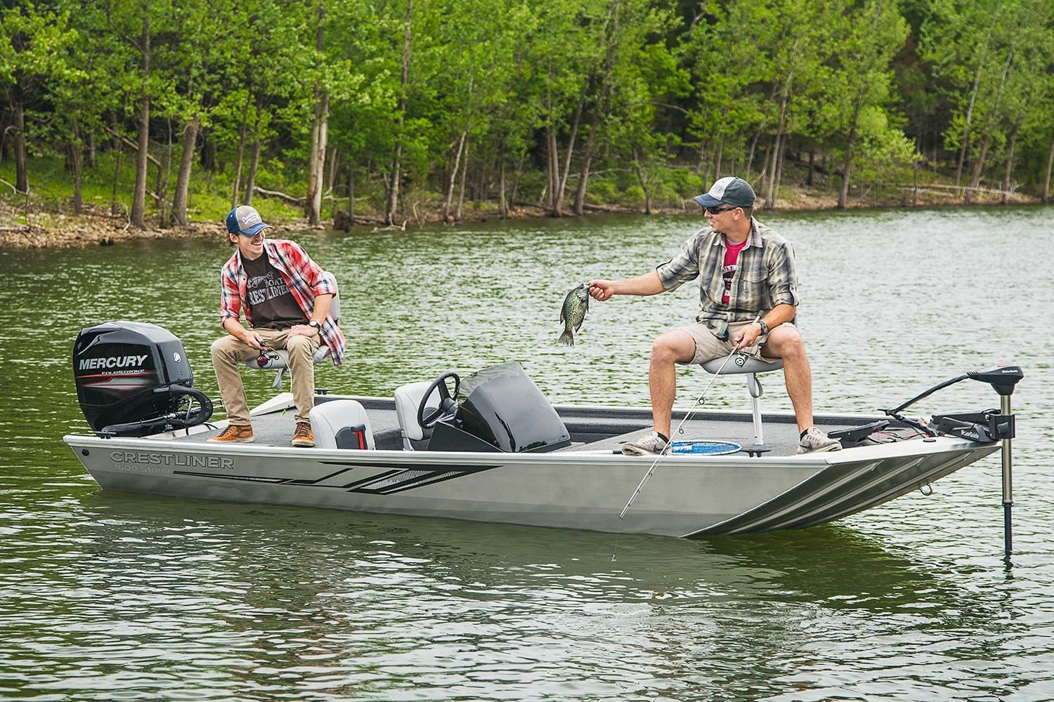 2019 Crestliner 1600 Storm in Cable, Wisconsin - Photo 2