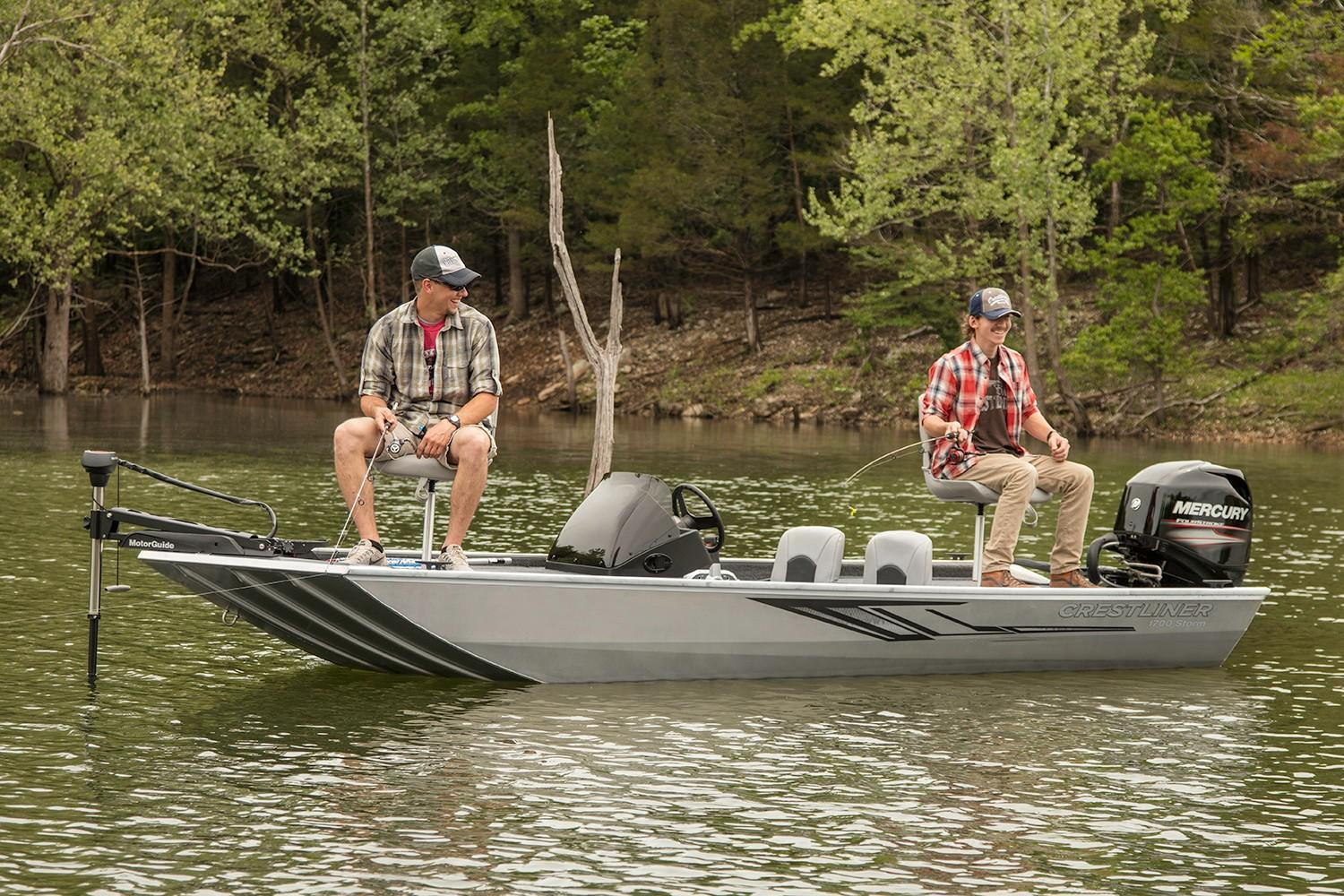 2019 Crestliner 1700 Storm in Amory, Mississippi - Photo 2