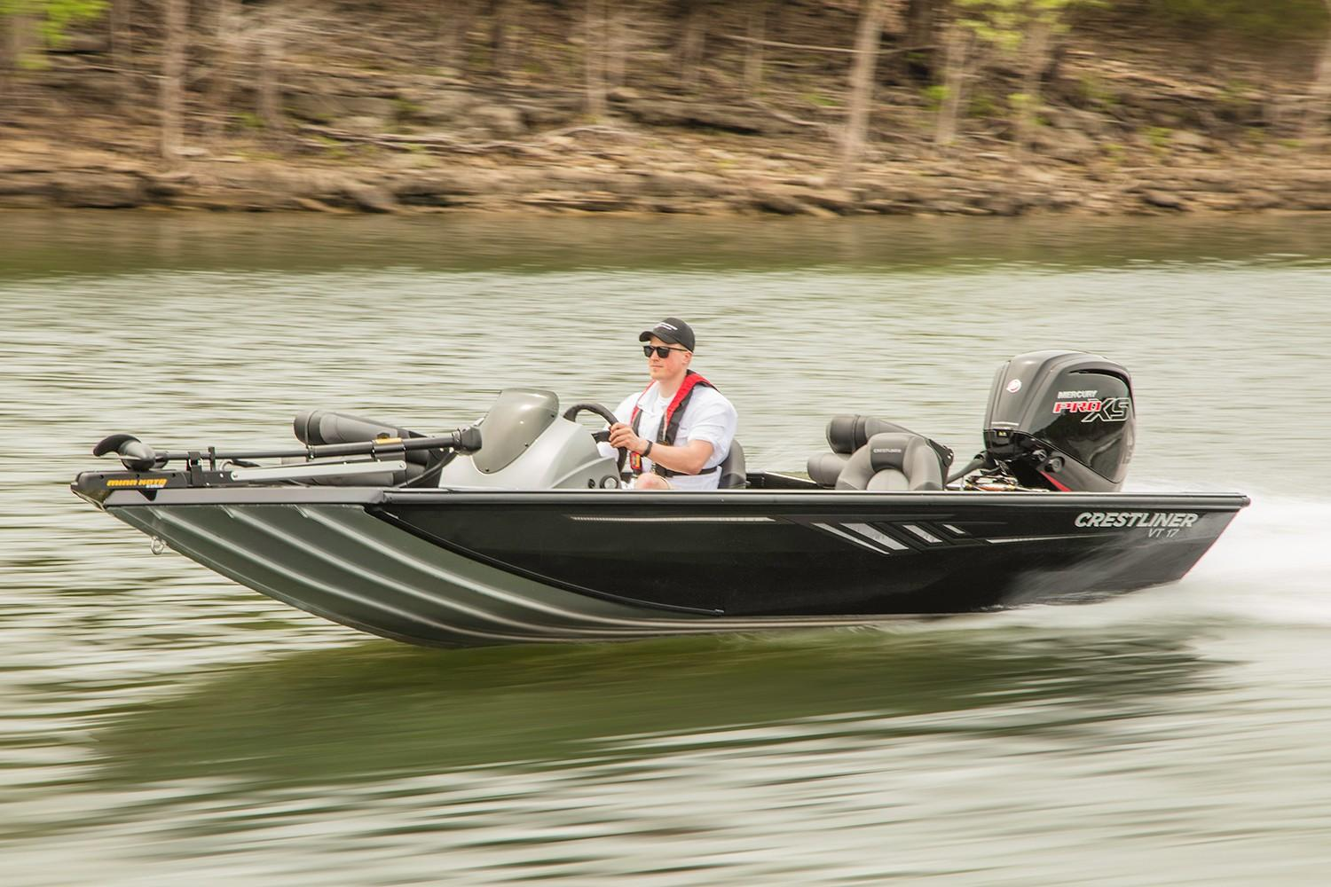 2019 Crestliner VT 17 in Amory, Mississippi - Photo 1