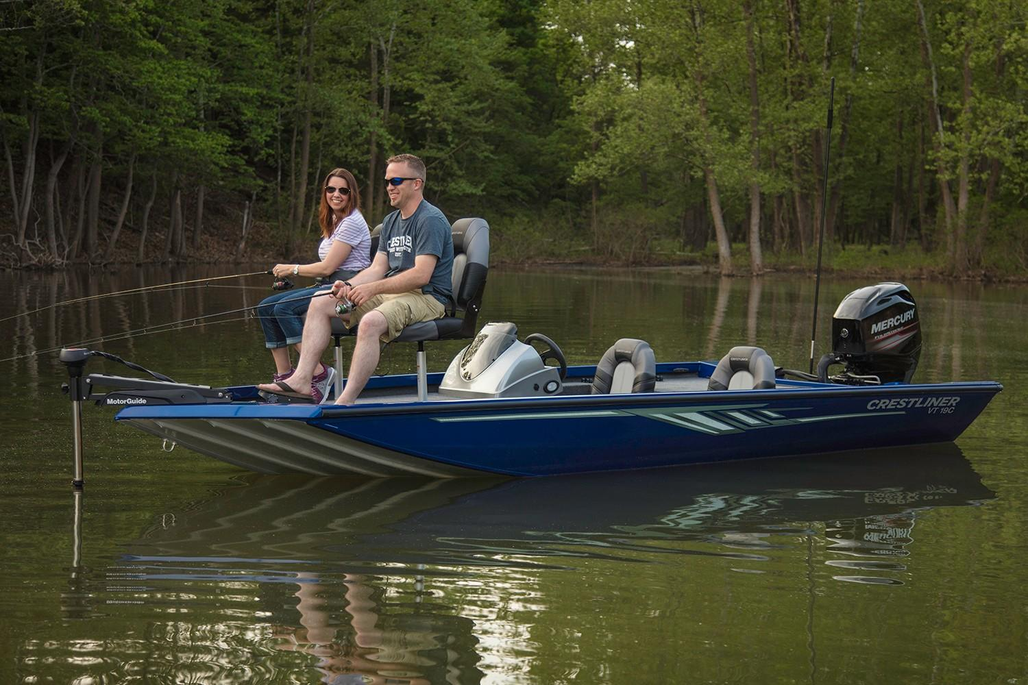 2019 Crestliner VT 19C in Cable, Wisconsin