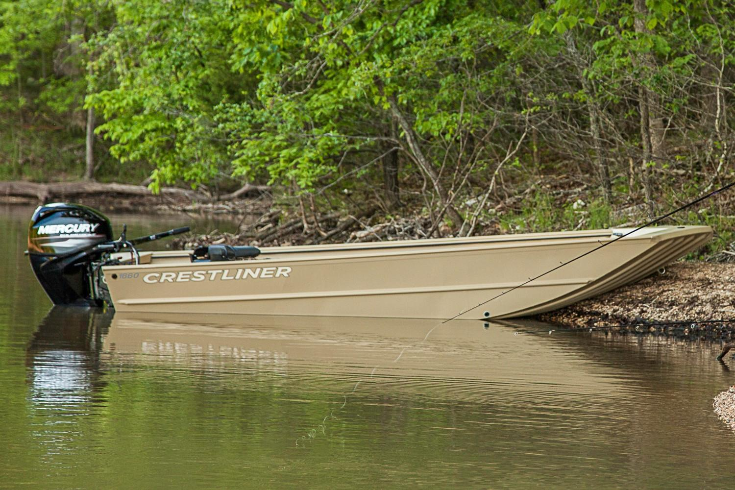 2019 Crestliner 1660 RETRIEVER JON DELUXE in Amory, Mississippi - Photo 1