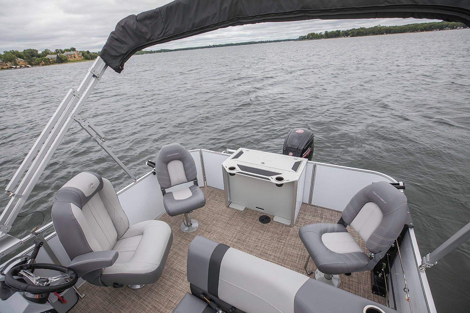 2019 Crestliner 220 Rally FS in Cable, Wisconsin