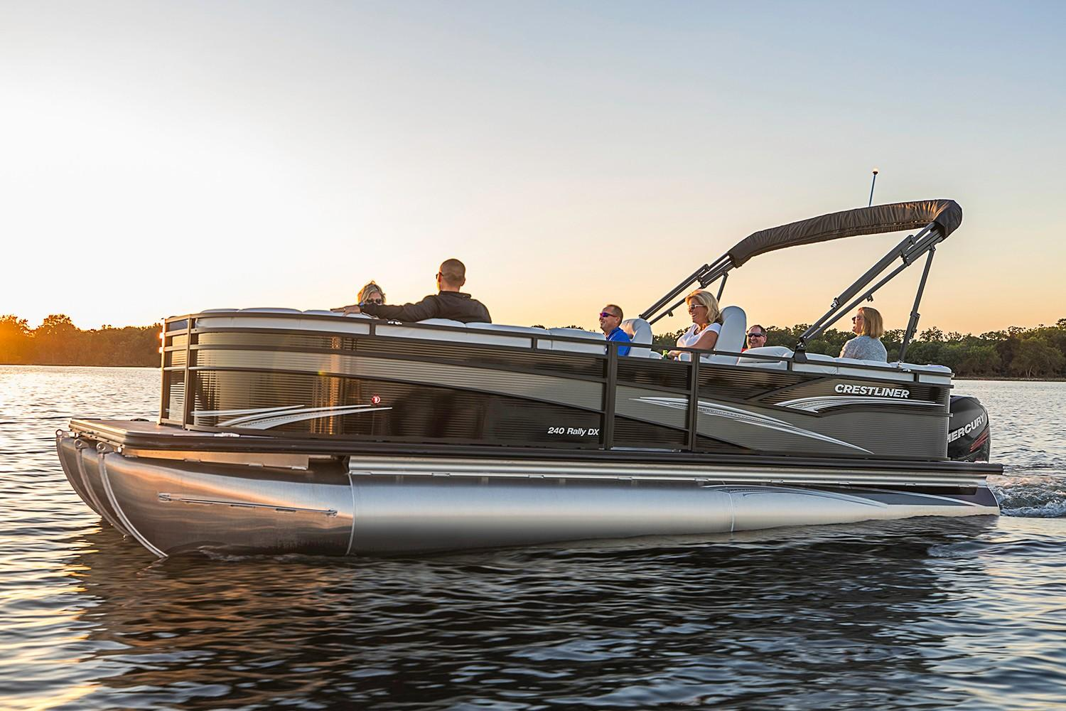 2019 Crestliner 240 Rally DX in Spearfish, South Dakota