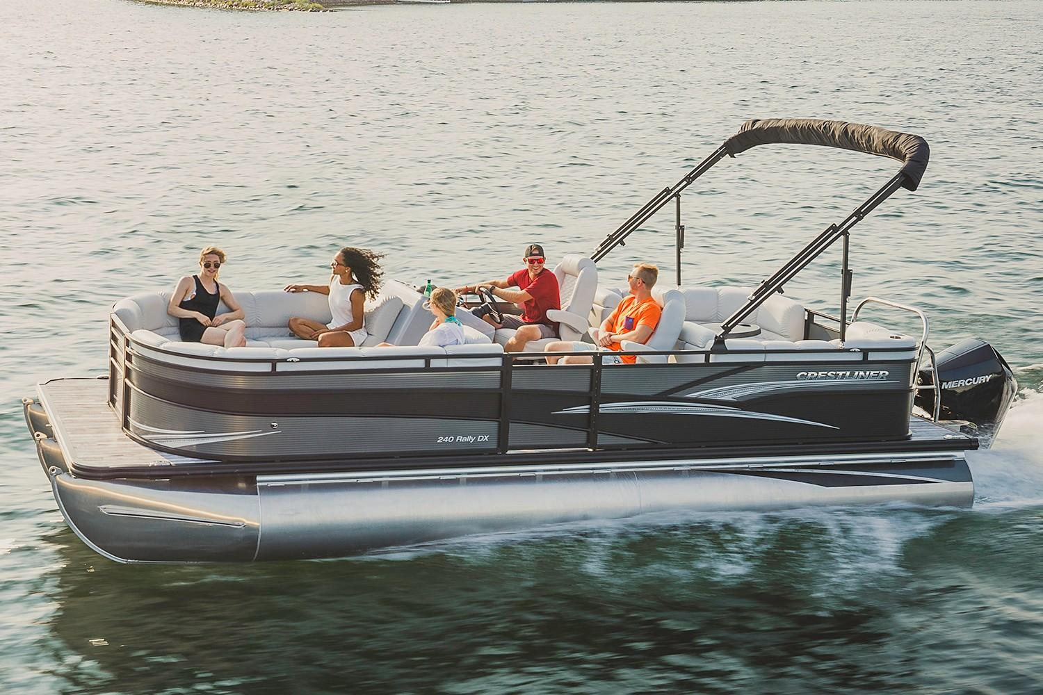 2019 Crestliner 240 Rally DX CS in Spearfish, South Dakota - Photo 1