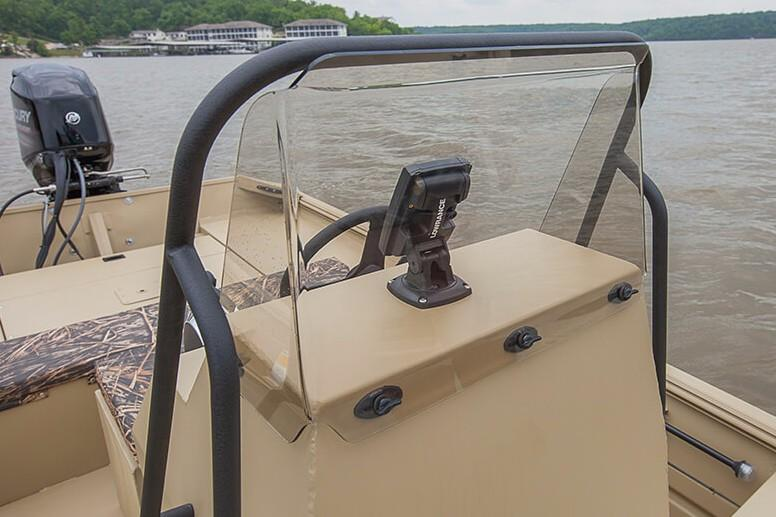 2019 Crestliner 1660 Retriever FCC in Saint Peters, Missouri