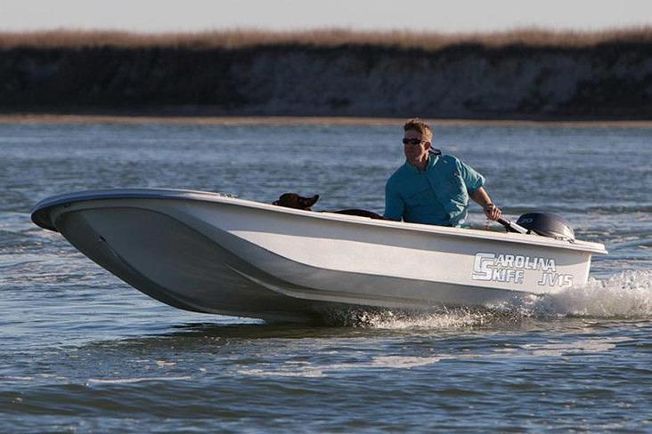 2016 Carolina Skiff 17 JV TH in Oceanside, New York