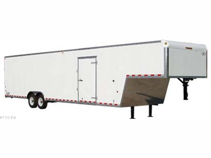 2008 Car Mate Trailers 26 ft. Eagle Fifth Wheel / Gooseneck in Saint Marys, Pennsylvania