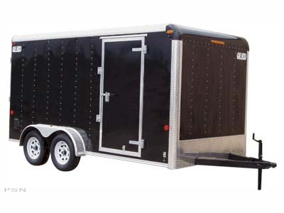 2008 Car Mate Trailers CM718CC-HD in Brockway, Pennsylvania