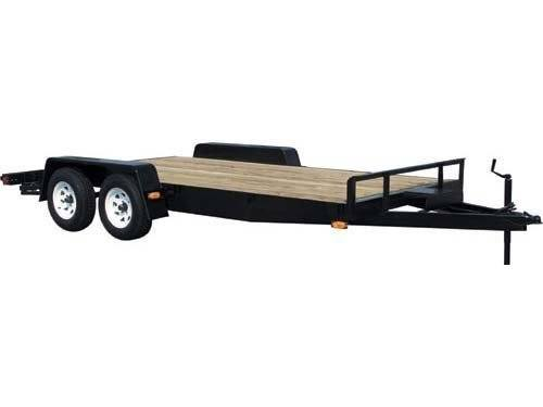2015 Car Mate Trailers 8 x 14 Plank Deck Angle Iron in Brockway, Pennsylvania