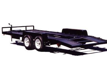 2015 Car Mate Trailers 8 x 16 Steel Runner Angle Iron in Brockway, Pennsylvania