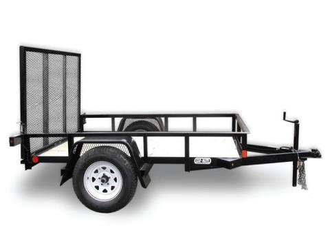 2016 Car Mate Trailers 4 x 8 A-Series with Gate in Saint Marys, Pennsylvania