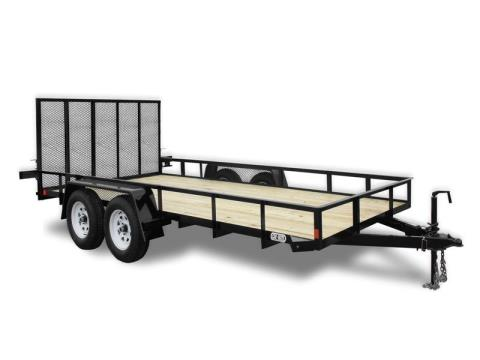 2016 Car Mate Trailers 6 x 12 HD A-Series in Brockway, Pennsylvania