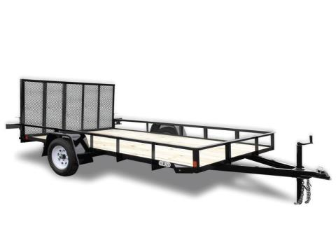 2016 Car Mate Trailers 6 x 13 A-Series in Brockway, Pennsylvania