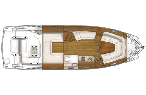 2015 Chaparral 330 Signature in Round Lake, Illinois