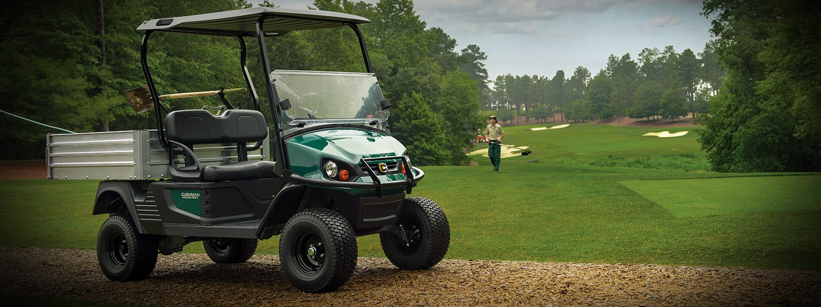 2017 Cushman Hauler PRO X (Electric) in Pikeville, Kentucky