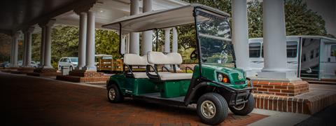 2017 Cushman Shuttle 4 Gas in Exeter, Rhode Island