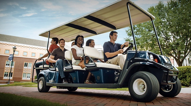 2018 Cushman Shuttle 8 Gas in Covington, Georgia