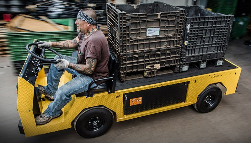 2018 Cushman Titan XD 2-Passenger Electric in Eugene, Oregon