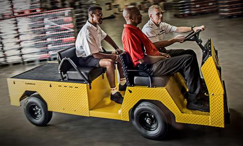 2018 Cushman Titan XD 4-Passenger Electric in Covington, Georgia